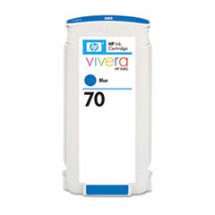HP 70, (C9458A) Blue Original Ink Cartridge