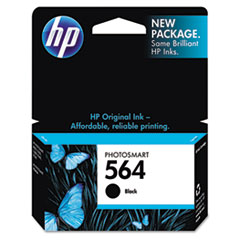 HP 564, (CB316WN) Black Original Ink Cartridge
