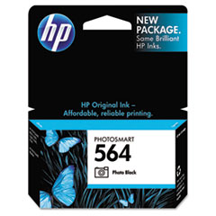 HP 564, (CB317WN) Photo Black Original Ink Cartridge