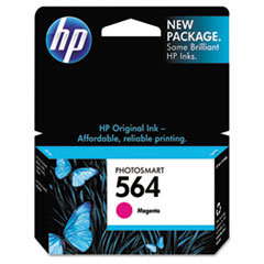 HP 564, (CB319WN) Magenta Original Ink Cartridge