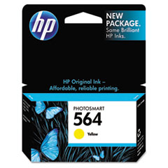HP 564, (CB320WN) Yellow Original Ink Cartridge