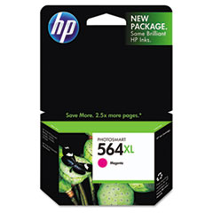 HP 564XL, (CB324WN) High Yield Magenta Original Ink Cartridge