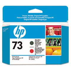 HP 73, (CD949A) Chromatic Red/Matte Black Printhead