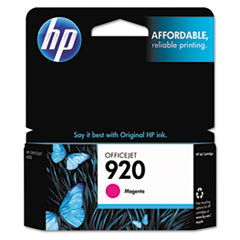HP 920, (CH635AN) Magenta Original Ink Cartridge