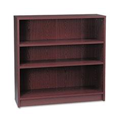 1870 Series Bookcase, Three Shelf, 36w x 11 1/2d x 36 1/8h, Mahogany HON1872N