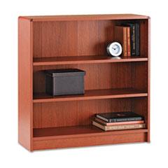 1890 Series Bookcase, Three Shelf, 36w x 11 1/2d x 36 1/8h, Henna Cherry HON1892J
