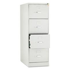 210 Series Four-Drawer, Full-Suspension File, Legal, 28-1/2d, Light Gray