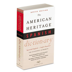 American Heritage Office Spanish Dictionary, Paperback, 640 Pages