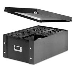 Media Storage Box, Holds 120 Slim/60 Std. Cases