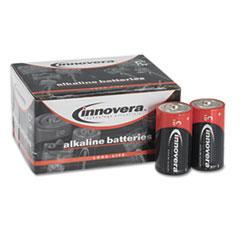 Alkaline Batteries, C, 12 Batteries/Pack