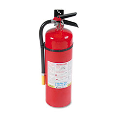 ProLine Pro 10MP Fire Extinguisher, 4 A, 60 B:C, 195psi, 19.52h x 5.21 dia, 10lb