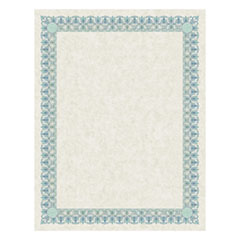SOUTHWORTH IVORY PARCHMENT CERTIFICATE GREEN & BLUE
