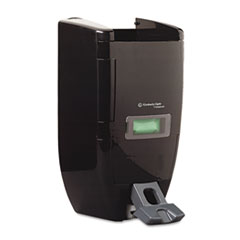IN-SIGHT SANITUFF Push Dispenser, 3 1/2L/8L, 10 3/4w x 7d x 17 3/4h, Black