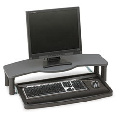 Comfort Desktop Keyboard Drawer With SmartFit, 26w x 13-1/2d, Black/Gray