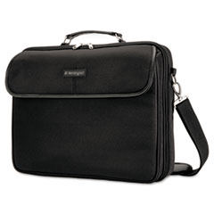 Simply Portable 30 Laptop Case, 15 3/4 x 3 x 13 1/2, Black