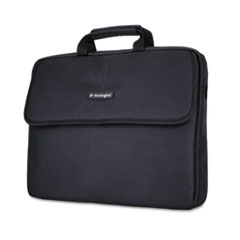 "17"" Laptop Sleeve, Padded Interior, Interior/Exterior Pockets, Black"