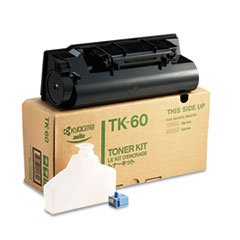TK60 Toner, 20000 Page-Yield, Black