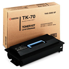 TK70 Toner, 40000 Page-Yield, Black