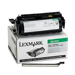 12A5849 High-Yield Toner for Labels, 25000 Page-Yield, Black