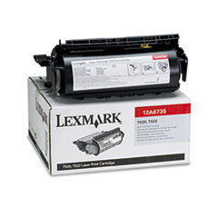 12A6735 High-Yield Toner, 20000 Page-Yield, Black