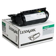 12A7465 Extra High-Yield Toner, 32000 Page-Yield, Black