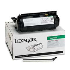 12A7468 High-Yield Toner, 21000 Page-Yield, Black