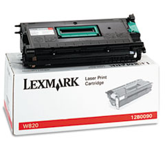 12B0090 Toner, 30000 Page-Yield, Black