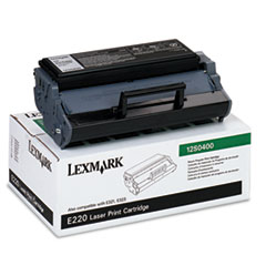 12S0400 Toner, 2500 Page-Yield, Black