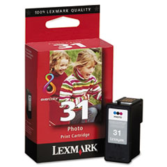 18C0031 (31) High-Yield Photo Ink, 475 Page-Yield, Tri-Color