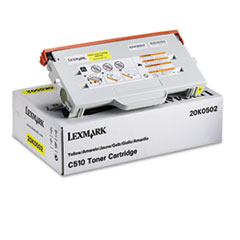 20K0502 Toner, 3000 Page-Yield, Yellow