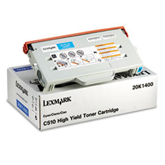 20K1400 High-Yield Toner, 6600 Page-Yield, Cyan