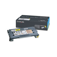 C500H2YG Toner, 3000 Page-Yield, Yellow