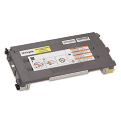C500S2YG Toner, 1500 Page-Yield, Yellow