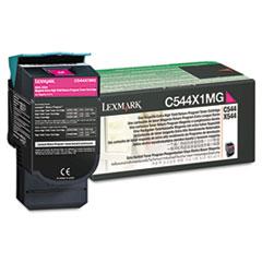 C544X1MG Extra High-Yield Toner, 4000 Page-Yield, Magenta