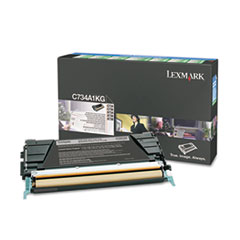 C734A1KG Toner, Return Program, 8000 Page-Yield, Black