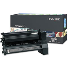 C7700KS Toner, 6000 Page-Yield, Black