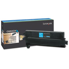 C9202CH Toner, 14000 Page-Yield, Cyan