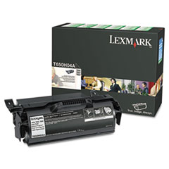 T650H04A High-Yield Toner, 25000 Page-Yield, Black