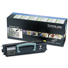 X340A11G Toner, 2,500 Page-Yield, Black