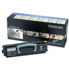 X340H11G High-Yield Return Prgrm Toner, 6,000 Pg-Yld, Black