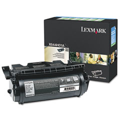 X644H01A Extra High-Yield Toner, 32000 Page-Yield, Black