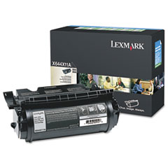 X644X11A Extra High-Yield Toner, 32000 Page-Yield, Black