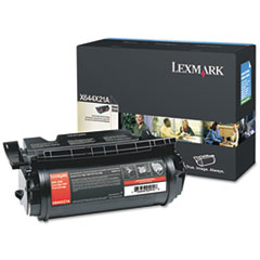 X644X21A Extra High-Yield Toner, 32000 Page-Yield, Black
