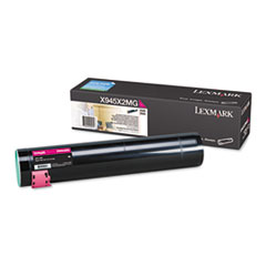 X945X2MG High-Yield Toner, 22000 Page-Yield, Magenta