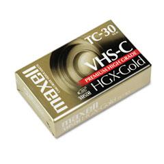 High Grade VHS-C Videotape Cassette, 30 Minutes
