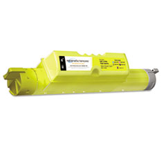 MS511YHC Remanufactured 310-7895 (JD750) High-Yield Toner, Yellow