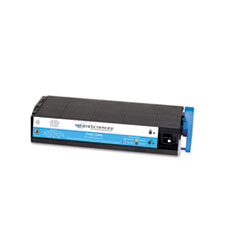 MS7000C Compatible 41963003 (Type C4) High-Yield Toner, Cyan