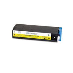 MS7000Y Compatible 41963001 (Type C4) High-Yield Toner, Yellow - Compatible