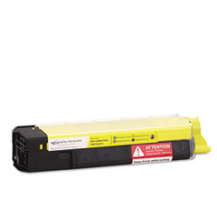 Okidata C5500n, C5800Ldn Yellow Toner Cartridge (43324401) - High Capacity