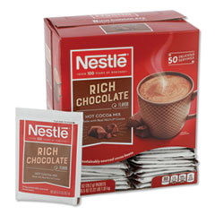 NESTLE RICH CHOCOLATE HOT  COCOA MIX .71OZ PACKET 50BX